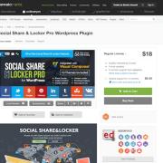 Codecanyon: Indeed Social Share & Locker Pro