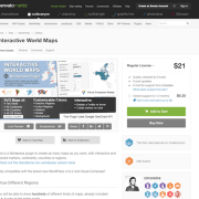Codecanyon: Interactive World Maps