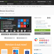 Codecanyon: Ultimate Social Deux