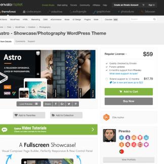 Themeforest: Astro