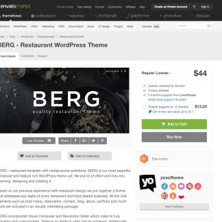 Themeforest: BERG