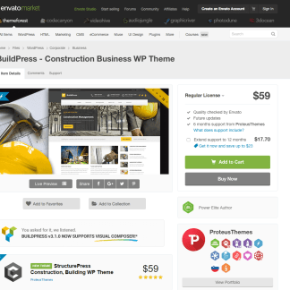 Themeforest: BuildPress