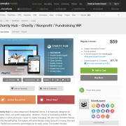 Themeforest: Charity Hub