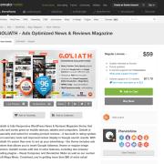 Themeforest: GOLIATH