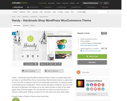 Themeforest: Handy