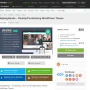 Themeforest: HelpingHands