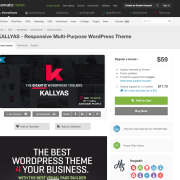 Themeforest: KALLYAS