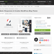 Themeforest: Sleek