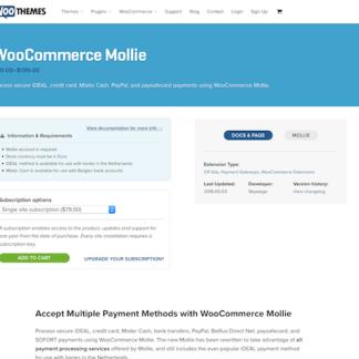 Extensión para WooCommerce: Mollie Gateway