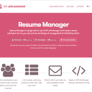WP Job Manager Add-On: Resume Manager