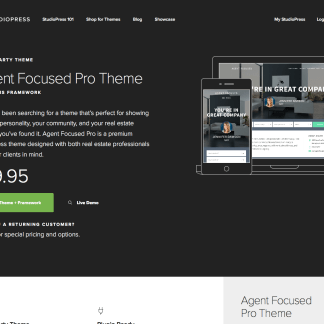 StudioPress: Agent Focused Pro