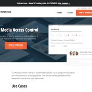 Graph Paper Press: Sell Media Access Control Addon