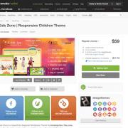 Themeforest: KidsZone