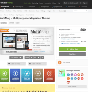 Themeforest: MultiMag