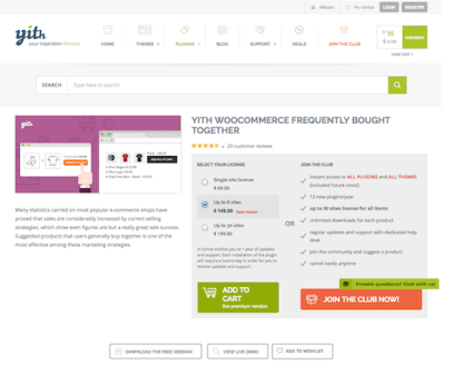 YITH WooCommerce: Frequently Bought Together Premium