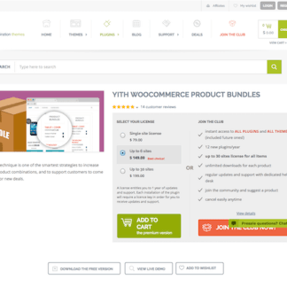 YITH WooCommerce: Product Bundles Premium