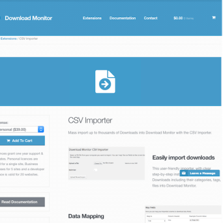 Download Monitor CSV Importer