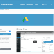 Download Monitor Google Drive