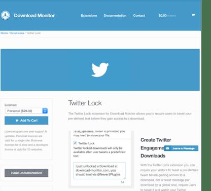 Download Monitor Twitter Lock