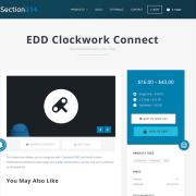 Easy Digital Downloads: Clockwork Connect
