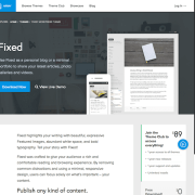 Array Themes: Fixed WordPress Theme
