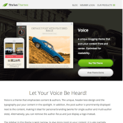 Thrive Themes: Voice WordPress Theme