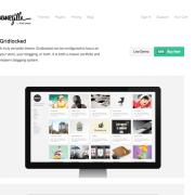 ThemeZilla: Gridlocked WordPress Theme