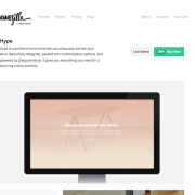 ThemeZilla: Hype WordPress Theme