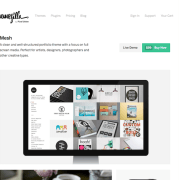 ThemeZilla: Mesh WordPress Theme