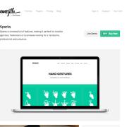 ThemeZilla: Sparks WordPress Theme
