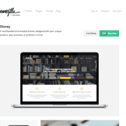 ThemeZilla: Storey WordPress Theme