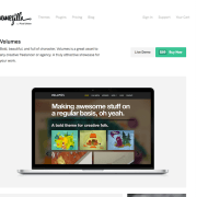ThemeZilla: Volumes WordPress Theme