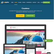 CSS Igniter: Cousteau WordPress Theme