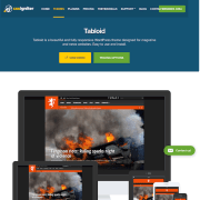 CSS Igniter: Tabloid WordPress Theme