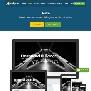 CSS Igniter: Koehn WordPress Theme