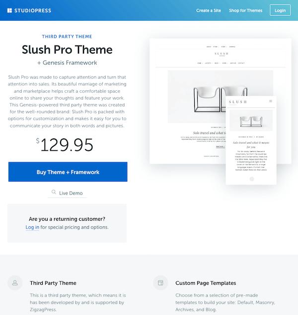 Studiopress vs thesis theme
