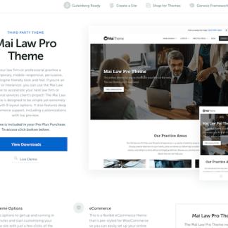 StudioPress: Mai Law Pro