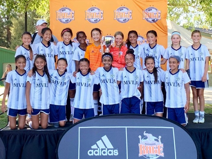 07G Olympique Lyonnais ECNL Finalists at Pleasanton Rage