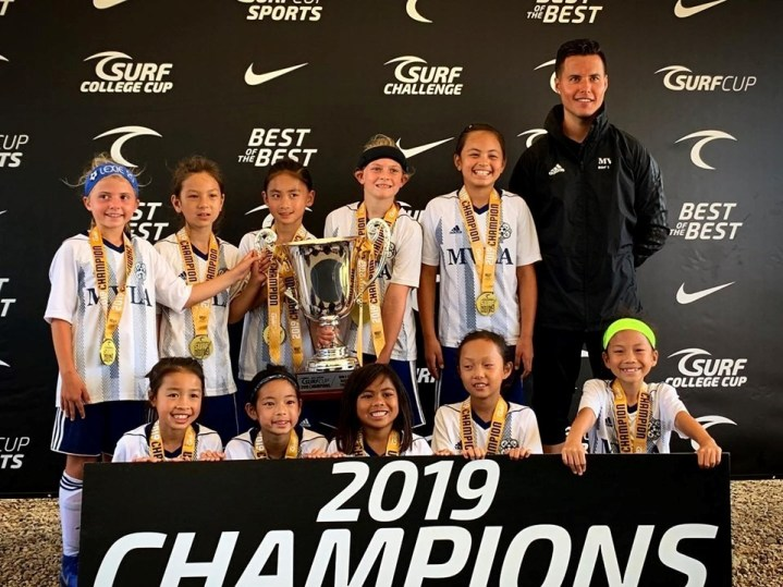 10G Juventus Blue Surf Cup Champions