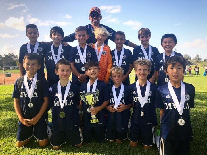U10 10B Atletico Nacional Blue U11 Finalists at Tall Trees