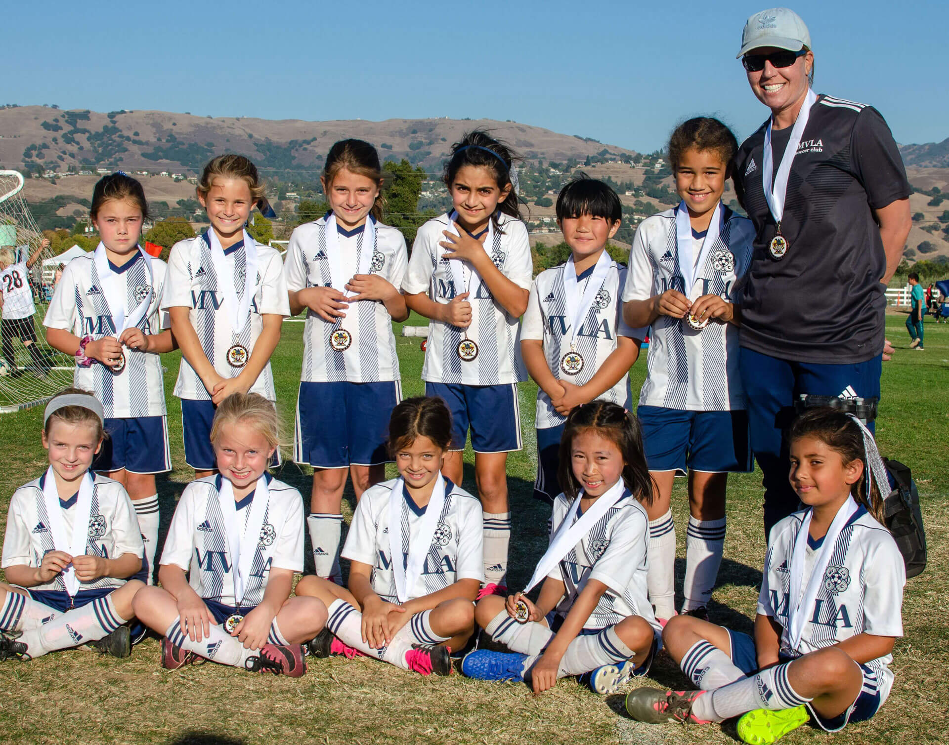 11G Madrid Black team places 3rd at the CYSA District ll Fall Cup!