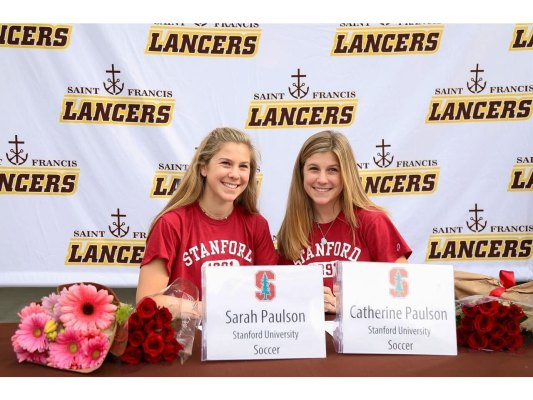 Congratulations Sarah Paulson and Catherine Paulson - 02G City ECNL