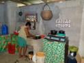 Nelia in the inside kitchen