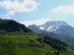 Start of Oberalp Pass