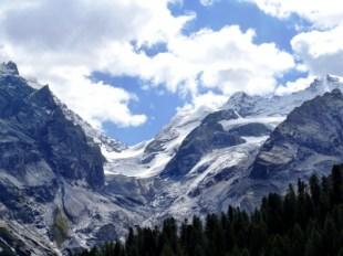 View Along Stelvio Pass Route
