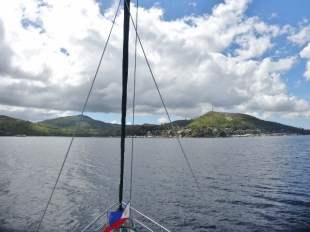 Approaching Port Culion