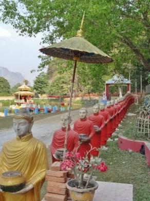 Outside Kaw Ka Thaung Cave