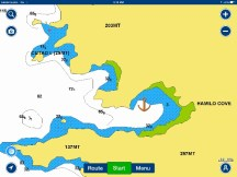 Hamilo Cove Anchorage