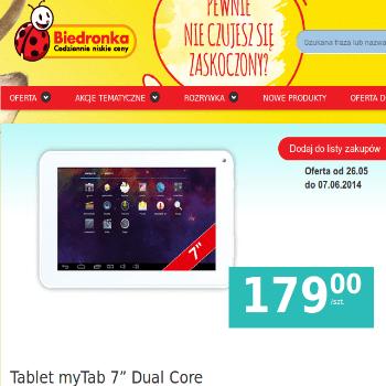 Biedronka Tablet 179 zł