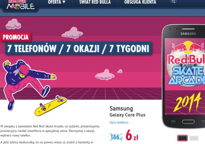 Promocja Red Bull Mobile Skate Arcade